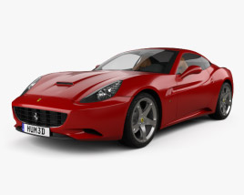 3D model of Ferrari California 2009