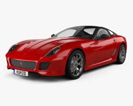 3D model of Ferrari 599 GTO 2011