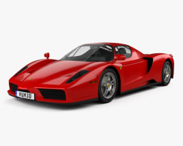 3D model of Ferrari Enzo 2002