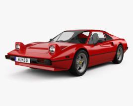 3D model of Ferrari 308 GTB / GTS 1975