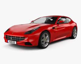 3D model of Ferrari FF 2011