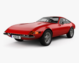 3D model of Ferrari 365 Daytona GTB/4 1968-1973