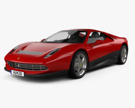 3D model of Ferrari SP12 EC 2012