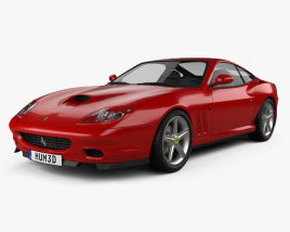3D model of Ferrari 575M Maranello 2002-2006