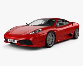 Ferrari F430 Scuderia 2009 3D model