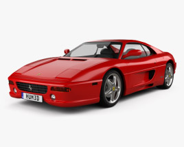 3D model of Ferrari F355 F1 Berlinetta 1999