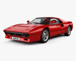 3D model of Ferrari 288 GTO 1984