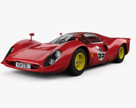 3D model of Ferrari 330 P4 1967