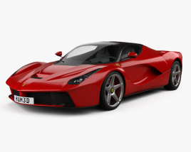 3D model of Ferrari F70 LaFerrari 2014