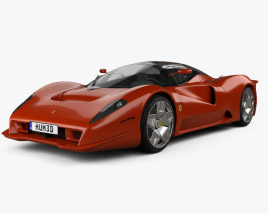 3D model of Ferrari P4/5 Pininfarina 2006