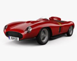 3D model of Ferrari 857 Sport Scaglietti Spider 1955