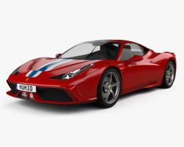 3D model of Ferrari 458 Speciale 2013