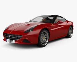 3D model of Ferrari California T 2014