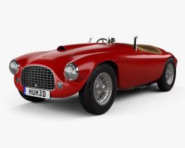 Ferrari 166 MM Barchetta 1948 3D model