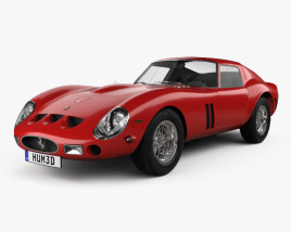 3D model of Ferrari 250 GTO (Series I) 1962