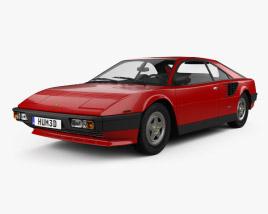 3D model of Ferrari Mondial 8 1980
