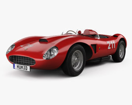 3D model of Ferrari 625 TRC 1957