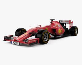 3D model of Ferrari F14 T 2014