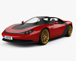 3D model of Ferrari Sergio 2014