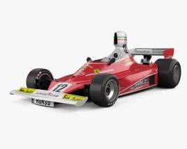 Ferrari 312 T 1975 3D model