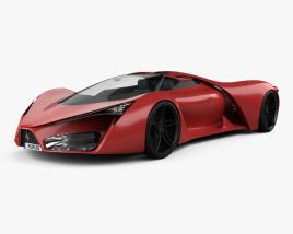 3D model of Ferrari F80 2016