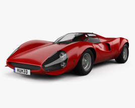 3D model of Ferrari Thomassima II 1967