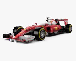 Ferrari SF16-H 2016 3D model