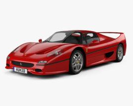 3D model of Ferrari F50 1995