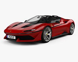 3D model of Ferrari J50 2016