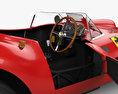 Ferrari 335 S Spider Scaglietti with HQ interior 1957 3d model