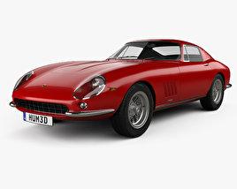 3D model of Ferrari 275 GTB4 1966
