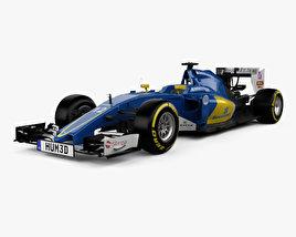 3D model of Ferrari Sauber C35 F1 2016