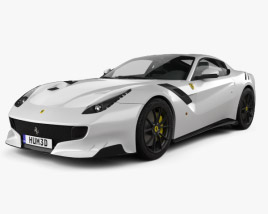 3D model of Ferrari F12 TDF 2016
