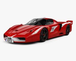 3D model of Ferrari FXX Evoluzione 2007