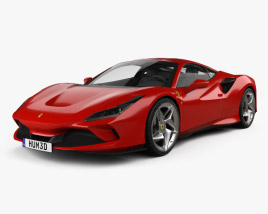 3D model of Ferrari F8 Tributo 2019
