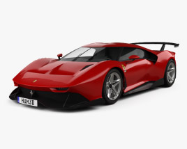 3D model of Ferrari P80 C 2019