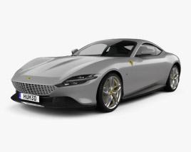 3D model of Ferrari Roma 2020