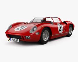 3D model of Ferrari 250 P 1963