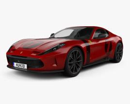3D model of Ferrari Omologata 2020