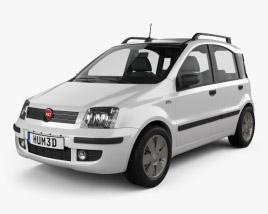 3D model of Fiat Panda 2009