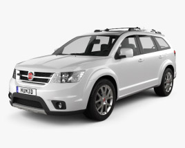 3D model of Fiat Freemont 2011