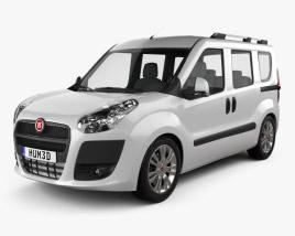Fiat Nuovo Doblo Combi 2011 3D model