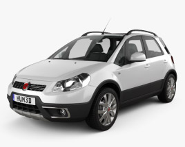 3D model of Fiat Sedici 2010