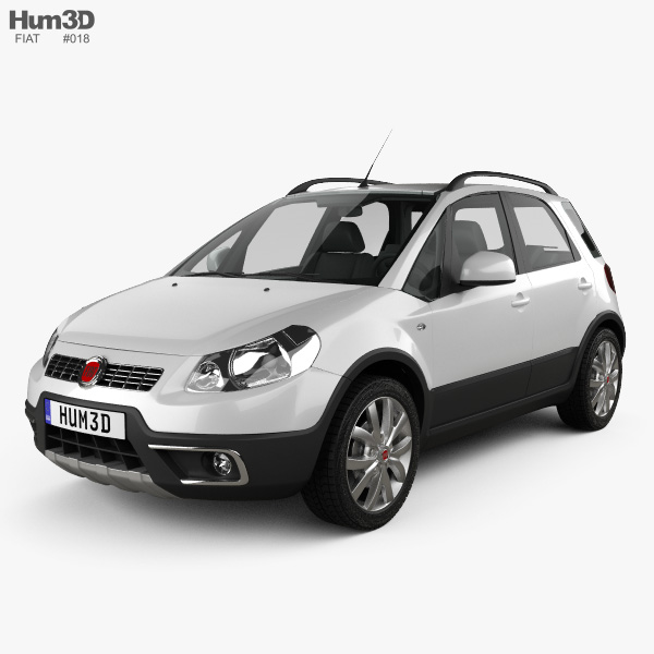 Fiat Sedici 2010 3D model