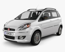 3D model of Fiat Idea 2012