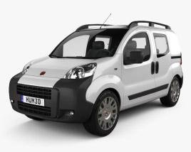 3D model of Fiat Fiorino Combi 2011