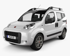 3D model of Fiat Fiorino Qubo 2011
