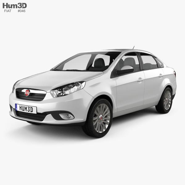Fiat Siena 2012 3D model