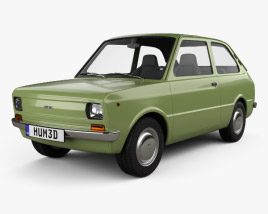 3D model of Fiat 133 1977