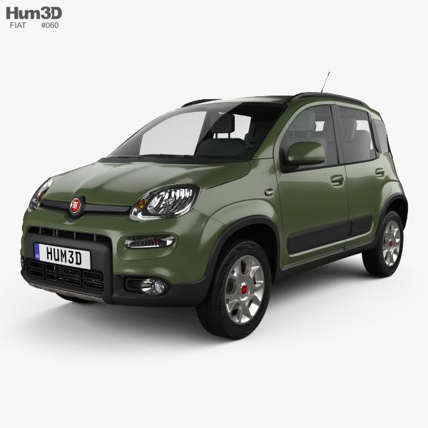 Fiat Panda 4x4 2012 3D model